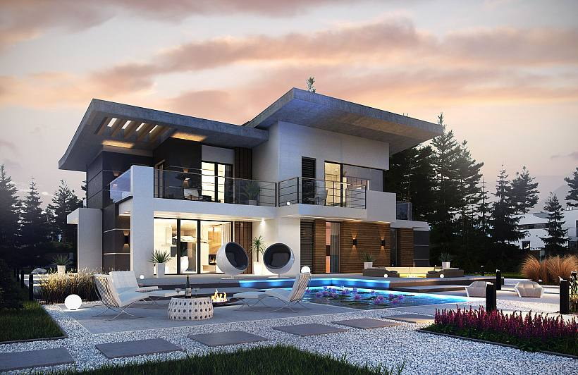Z500 Projects Of Houses And Garages Family Houses